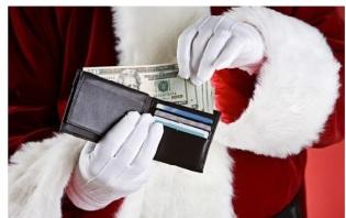 santa wallet